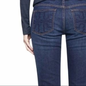 Tory Burch Classic Tory Boot Jeans